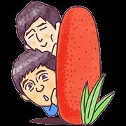 สติ๊กเกอร์ไลน์ Hakata Hanamaru・Daikichi