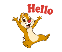 Chip 'n' Dale Animated Stickers sticker #1867902