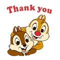 Chip 'n' Dale Animated Stickers