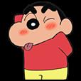 動くゾ!クレヨンしんちゃんアニメスタンプ
