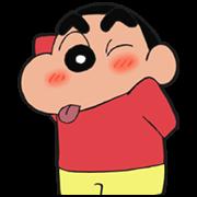 สติ๊กเกอร์ไลน์ ชินจังจอมแก่น!