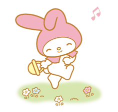 My Melody Animated Stickers sticker #2040309