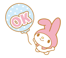 My Melody Animated Stickers sticker #2040310