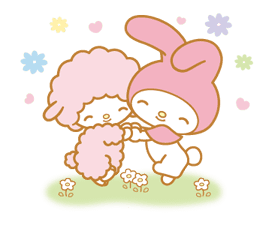 My Melody Animated Stickers sticker #2040311