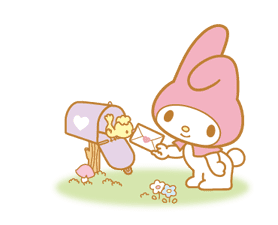 My Melody Animated Stickers sticker #2040313