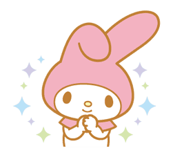 My Melody Animated Stickers sticker #2040317