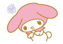 My Melody Animated Stickers sticker #2040318