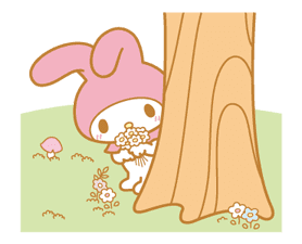 My Melody Animated Stickers sticker #2040319