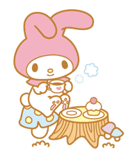 My Melody Animated Stickers sticker #2040321