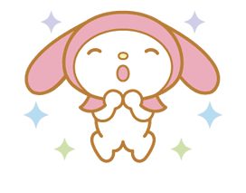 My Melody Animated Stickers sticker #2040322