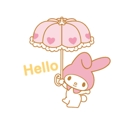 My Melody Animated Stickers sticker #2040323