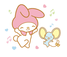 My Melody Animated Stickers sticker #2040328