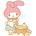 My Melody Animated Stickers