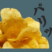 สติ๊กเกอร์ไลน์ Potatoo2