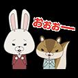 紙兎ロペ アニメスタンプ