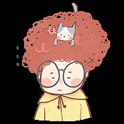 สติ๊กเกอร์ไลน์ ปอนปอนกับน้องแมวมูมู