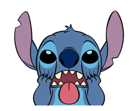 Stitch: Animated Stickers sticker #2713771