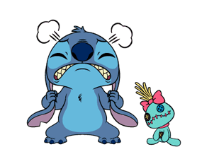 Stitch: Animated Stickers sticker #2713779