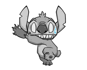 Stitch: Animated Stickers sticker #2713781
