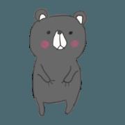 สติ๊กเกอร์ไลน์ Bear-KUMA