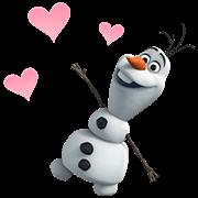 สติ๊กเกอร์ไลน์ สติ๊กเกอร์ดุ๊กดิ๊ก Frozen