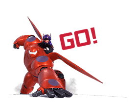 Big Hero 6: Animated Stickers sticker #3208622