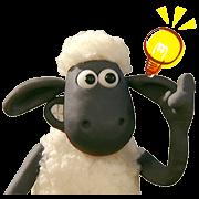 สติ๊กเกอร์ไลน์ Shaun the Sheep แกะดุ๊กดิ๊ก