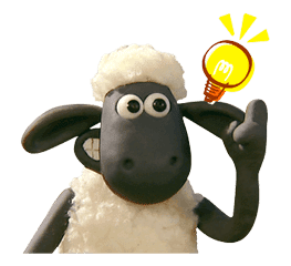 Shaun the Sheep Animated Stickers sticker #3208643