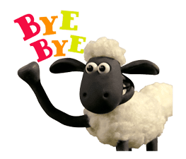 Shaun the Sheep Animated Stickers sticker #3208646