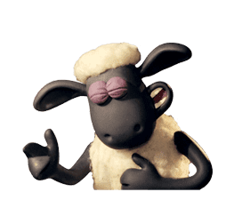 Shaun the Sheep Animated Stickers sticker #3208649