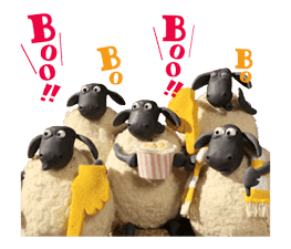 Shaun the Sheep Animated Stickers sticker #3208654