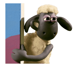 Shaun the Sheep Animated Stickers sticker #3208655
