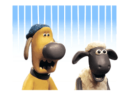 Shaun the Sheep Animated Stickers sticker #3208658