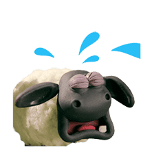 Shaun the Sheep Animated Stickers sticker #3208661