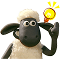 Shaun the Sheep Animated Stickers