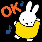 สติ๊กเกอร์ไลน์ Miffy Animated Stickers