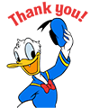 Donald Duck Animated Stickers