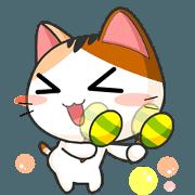 สติ๊กเกอร์ไลน์ Gojill The Meow Animated V.2