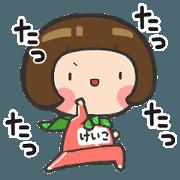สติ๊กเกอร์ไลน์ Sticker teen cute[Keiko]