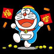 สติ๊กเกอร์ไลน์ Doraemon Animated Stickers