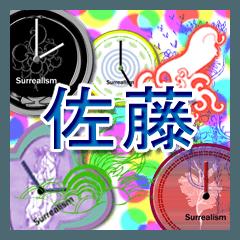 สติ๊กเกอร์ไลน์ Sato&Surrealism