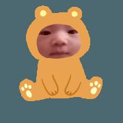 สติ๊กเกอร์ไลน์ cute baby ...