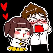 สติ๊กเกอร์ไลน์ Boostwo Love!!