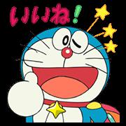 สติ๊กเกอร์ไลน์ Doraemon the Movie 2015