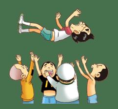 Super Radical Gag Family: Animated sticker #4976952