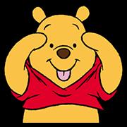 สติ๊กเกอร์ไลน์ Winnie The Pooh