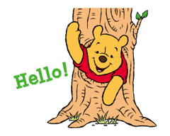 Winnie The Pooh Animated Stickers sticker #5067432