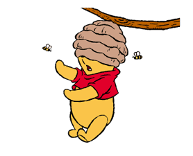 Winnie The Pooh Animated Stickers sticker #5067436