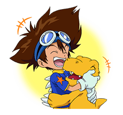 DIGIMON ADVENTURE sticker #5137985