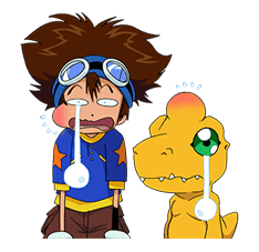 DIGIMON ADVENTURE sticker #5137986